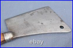 Vintage/Antique Mack & Co. Rochester NY 8 Blade Meat Cleaver-Hog Splitter