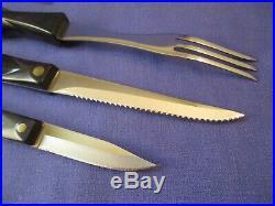 Vintage CUTCO 3 Piece Set Turning Fork, Paring Knife & Trimmer Knife