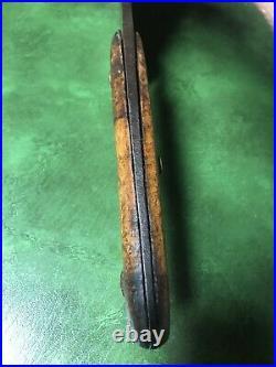 Vintage ENDERES Butchers Meat Cleaver original antique Large 16 1/2 Long