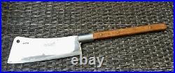 Vintage F Dick German HOG Splitter Cleaver Wood handle