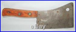 Vintage Foster Bros 217 Solid Steel Meat Cleaver Butcher 136