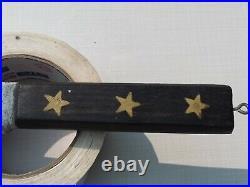 Vintage Foster Bros Carbon Steel Kitchen Knife 14 Blade with star stamped