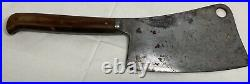 Vintage Foster Brothers #7 Meat Cleaver Chef Butcher Knife