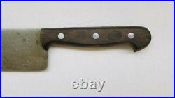 Vintage GUSTAV EMIL ERN Carbon Steel 12 Blade Chef's Knife Germany