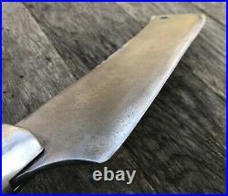 Vintage HUGE F-Dick Meat Cleaver Hog Splitter No. 42 14 Blade 4 lb. + x 33 Long