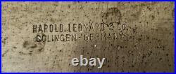 Vintage Harold Leonard Tarpona Germany Carbon Steel Chef Knife 10