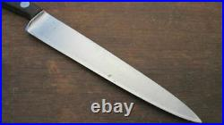 Vintage Henckels Chef's Carbon Steel Sandwich or 6 Slicing Knife RAZOR SHARP