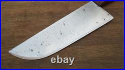 Vintage Italian Chef's Hand-Forged Carbon Steel Swiss Cleaver Knife RAZOR KEEN