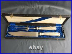 Vintage J. A. Henckels Solingen Metal Knife & Fork with box