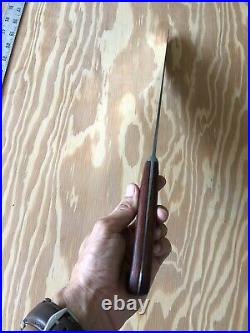 Vintage KNIFE Chef Butcher DEXTER 48912 Carbon Steel 12 Blade, Sharp By Hand