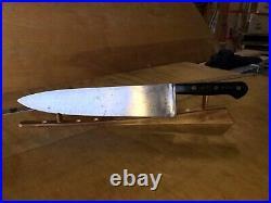Vintage KNIFE DEXTER 48912, chefs Butchers, 12 Carbon Steel Blade, Sharp By Hand