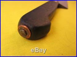 Vintage Kastor 13.5 inch Carbon Steel Chef Carving Knife with Nogent Handle