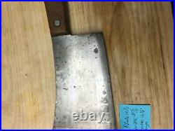 Vintage Large meat Cleaver from meat shop