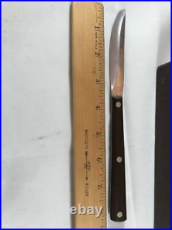 Vintage No. 47 Cutco Straight Edge Knives with Wooden Case Set of 8