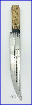 Vintage Old Hickory 4 Piece Ontario Knife Set, Original. With Display Holder