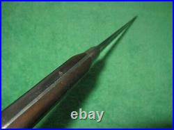 Vintage Professional Sabatier Chefs Knife, Carbon Steel, Wood Handle, 8 Blade