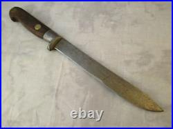 Vintage Prussian 7 inch Carbon Steel Carving Knife