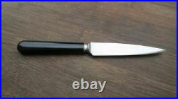 Vintage Russell Green River Works Carbon Steel Chef's Paring Knife RAZOR SHARP