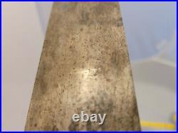 Vintage SABATIER Chef Knife 10 Carbon Steel Blade Made in France