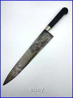 Vintage Sabatier Chefs Knife Rue St. Honore 84 Paris France 10 Blade