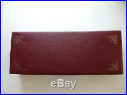 Vintage Sheffield Stainless E Parker & Sons Carving Set & 6 Steak Knives 3709