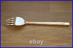 Vintage Sigvard Bernadotte Designer Bronze Cutlery Set for Six Repolished