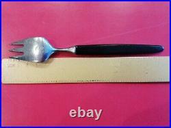Vintage Tias Eckhoff Lundtofte 30 Piece Cutlery Set With Bakelite Handles