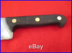 Vintage Wusthof 10 inch Carbon Steel Lamb Splitter 660-10