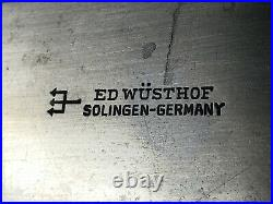 Vintage Wusthof 147-12 1/2 Blade WWI Old Logo