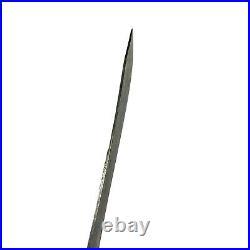 Vtg 1930's 40's Case 10 Blade CASES TESTED XX Carbon Steel Butcher Knife USA